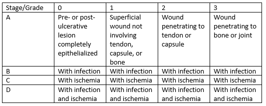 Classification of Diabetic Foot Ulcers   WoundSource