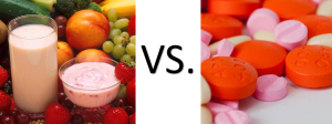 Nutrition vs. Antibiotics