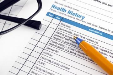 patient comorbidities in health history