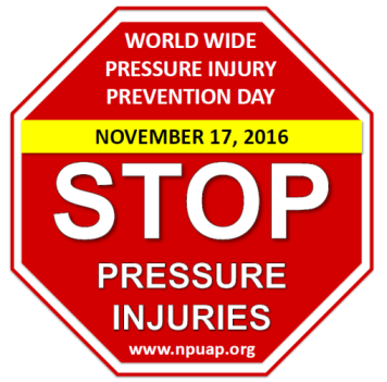 World Wide Pressure Injury Prevention Day