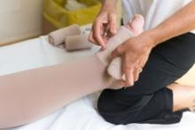 compression therapy for lymphedema