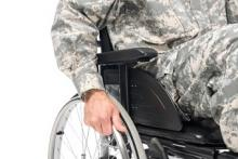 Veteran with Spinal Cord Injury